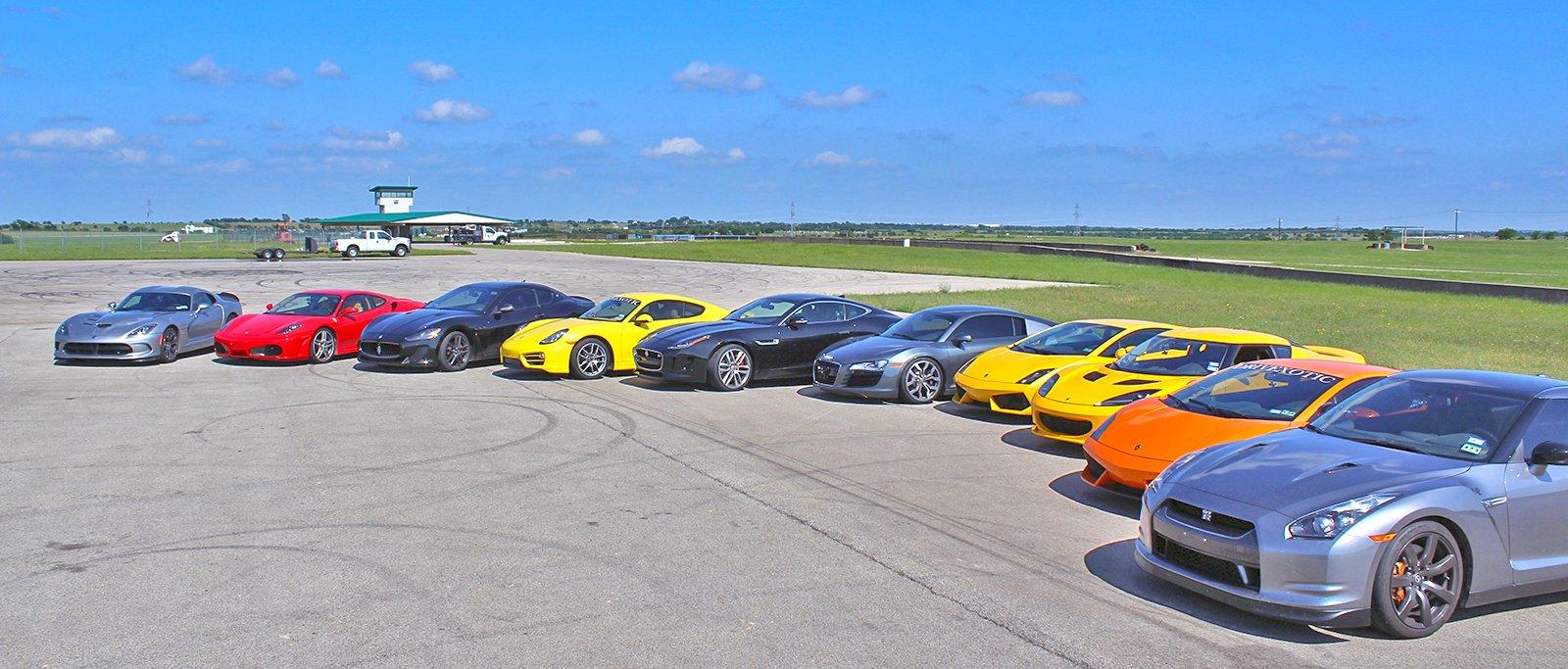 Race Exotic Cars Dallas